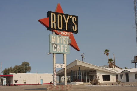 Iconic Roy's Cafe.  Serves cold drinks and souvenirs.