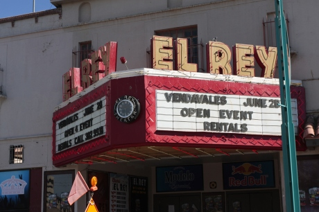 The old El Rey.