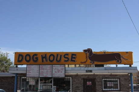 The Doghouse. You can get a Frito pie here.
