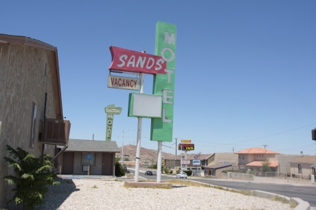Old Sands in Barstow.