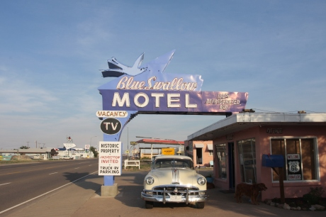 The front of the Motel