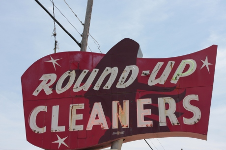 Round-Up Cleaners. Guess electricity is cheap in OKC.