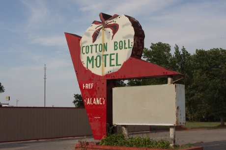 Cotton Boll Now a private home