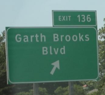 Garth Brooks Blvd.