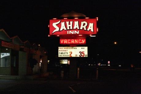 The Sahara.  Looks way better at night.