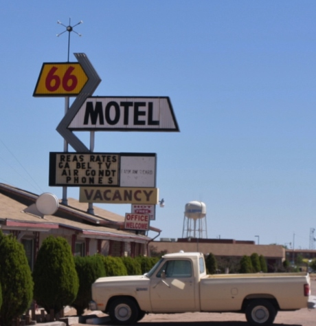 Old Route 66 Hotel.  Still operating.