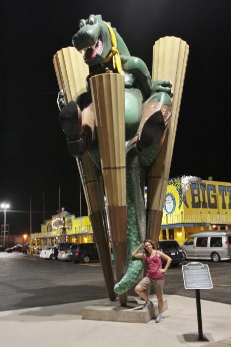 Giant Texas Lizard