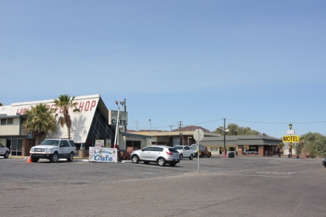 The current cafe and motel.  Both still active.
