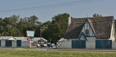 Another old motel called the  Brookshire.