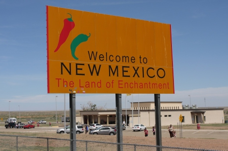 This was way easier to do in the daytime, thanks New Mexico for welcoming us.
