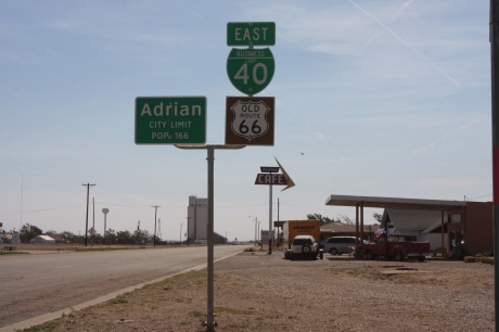 Needed a Route 66 marker in Texas.