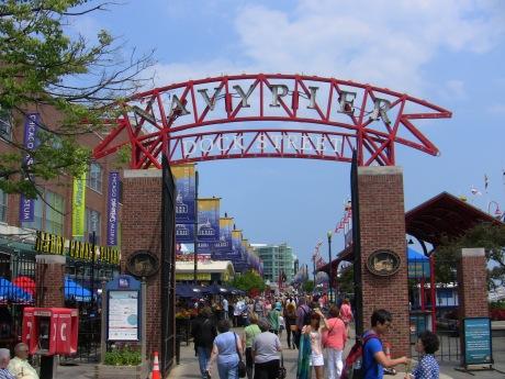 Navy Pier Entrance