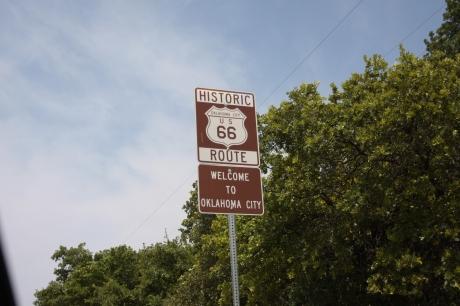 Oklahoma Sign