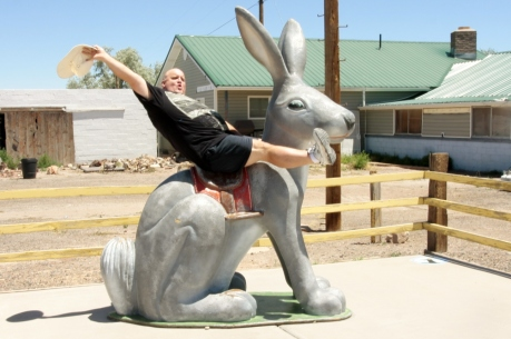 Giddie up little rabbit!