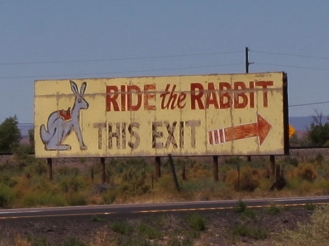 The sign that started a mission.