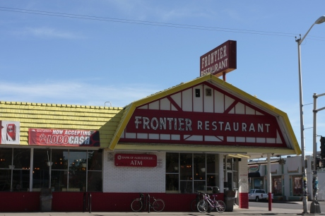 Old Frontier Restaurant on Route 66.  Good Tortilla soup.