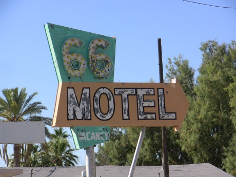 Another old Route 66 Motel.  Still open.