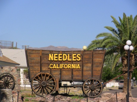 The old Needles Welcome Wagon