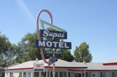 Old Supai Motel.  Still serving travelers.