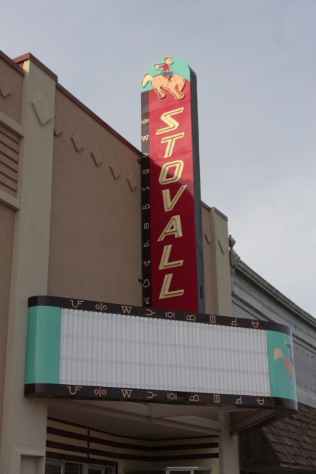 Stovall Theater Not open, under remodel.