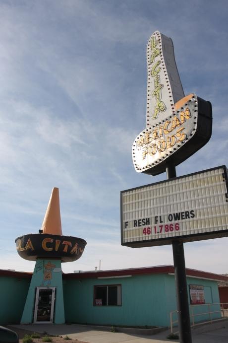 La Cita mexican food place.  Is still open.
