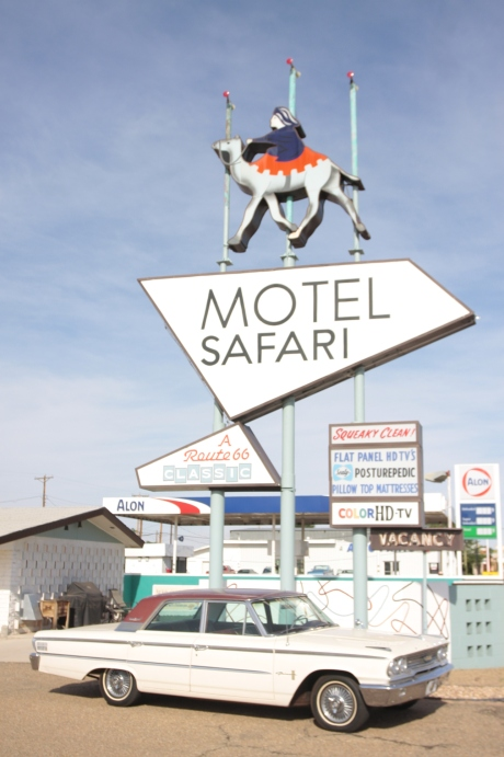 Motel Safari, this place looked really cool.