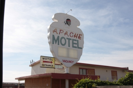 Apache is still open, but looks to be barely hanging on.