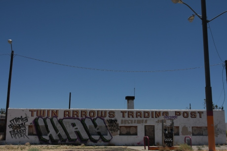 Trading post from the front.