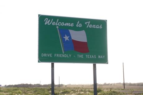 Enter Texas.