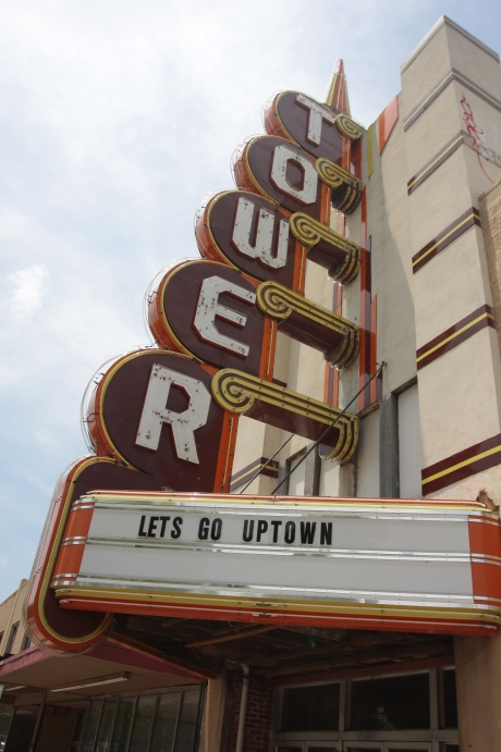 The Tower Theater. Currently under remodel.