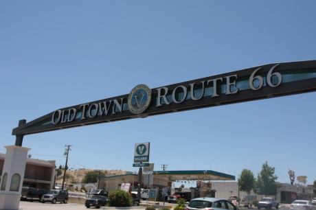 Entry way to Route 66
