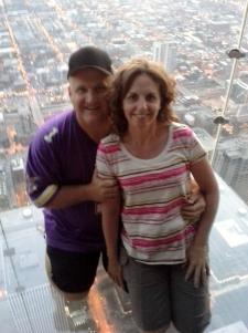Me & Kristen 103 stories up!